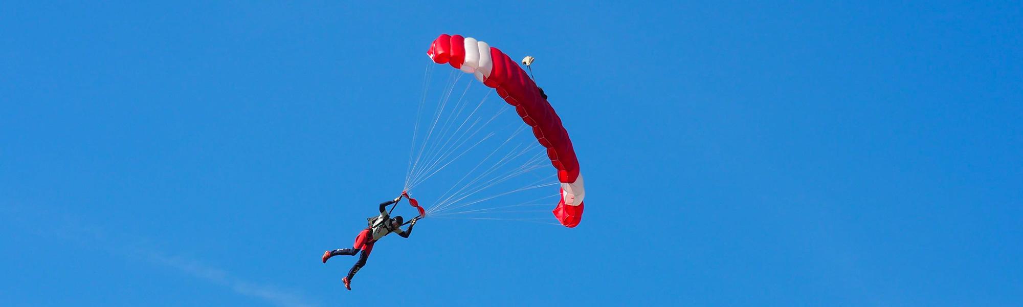 Landeanflug © skydive-mv.de